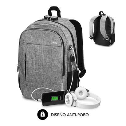 mochila-subblim-urban-lock-grey-para-portatiles-hasta-16-4064cm-443014cm-bloqueo-antirrobo-puerto-usb-salida-auriculares