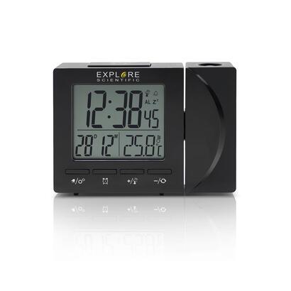 reloj-despertador-explore-rdp-1001-proyecta-la-hora-muestra-temperatura-retroiluminacion-cabezal-proyeccion-giratorio-180-pilas-