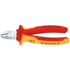 knipex-70-06-125-alicates-de-corte-diagonal-acero-cromo-vanadio-de-plastico-rojonaranja-125-cm-121-g