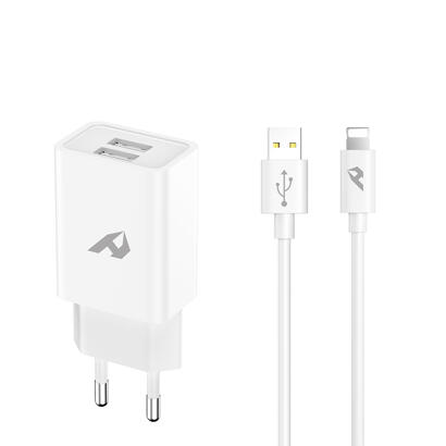 adaptador-de-red-enjoy-usb-2-usb-x-5v24a-con-cable-lightning-blanco