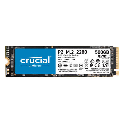 ssd-crucial-m2-p2-500gb-3d-nand-nvme-pcie-ssd