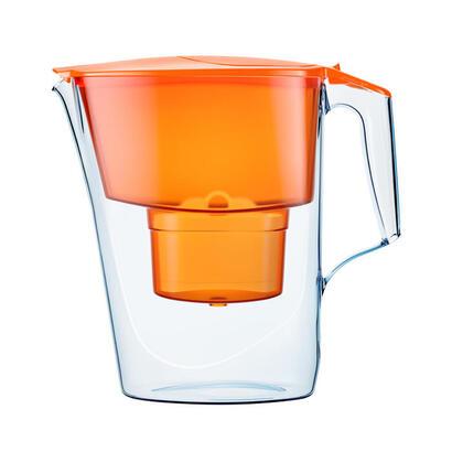aquaphor-4744131010786-time-jarra-con-filtro-y-cartucho-b100-25-maxfor-color-naranja
