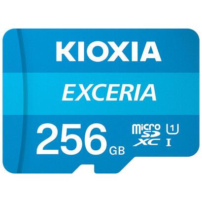 micro-sd-kioxia-256gb-exceria-uhs-i-c10-r100-con-adaptador