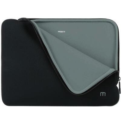 mobilis-skin-maletines-para-portatil-356-cm-14-funda-negro-gris