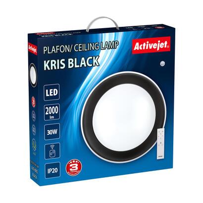 plafon-led-activejet-aje-kris-black-mando-a-distancia