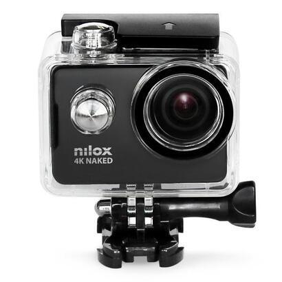 nilox-4k-naked-camara-deportiva-negra