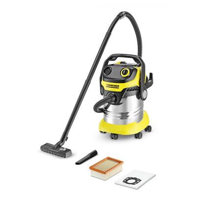 karcher-wd-5-premium-negro-metalico-amarillo-giratorio-25-l-5-m-corriente-alterna-1100-w