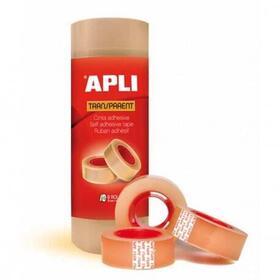 cinta-adhesiva-transparente-en-torre-apli-8-rollos-19mm-x-33m