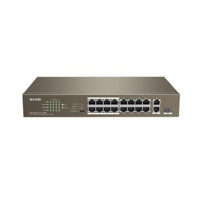 switch-tenda-tef1118p-16-150w-16-puertos-10100-datospoe-1-puerto-101001000-datos-1-puerto-1001000-sfp-potencia-total-poe-enracab