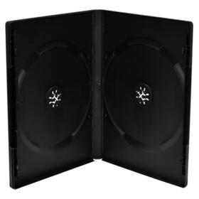 mediarange-dvd-leerbox-50pcs-double-black