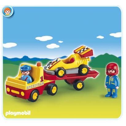 playmobil-123-6761-coche-de-carreras-con-camion
