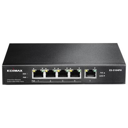edimax-hub-switch-5-ptos-10100-es-5104ph