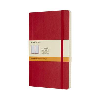 moleskine-cuadernoblock-rojo-qp616f2-moleskine-805-50-0285-463-4-adulto-rojo-monotono-rustica-mate-70-gm