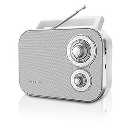 muse-radio-m-051-rw-muse-m-051-rw-portatil-analogica-fmmw-blanco-giratorio-corriente-alterna-bateria
