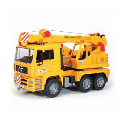 bruder-man-crane-truck-without-light-and-sound-module-vehiculo-de-juguete