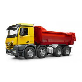 bruder-mb-arocs-halfpipe-dump-truck-vehiculo-de-juguete