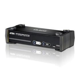 aten-vga-splitter-4-port-vga-cat5e6-audiovideo-splitter-wi-repartidor-audiovisual-vga-sobre-cat-5e6-de-4-puertos-con-rs-232