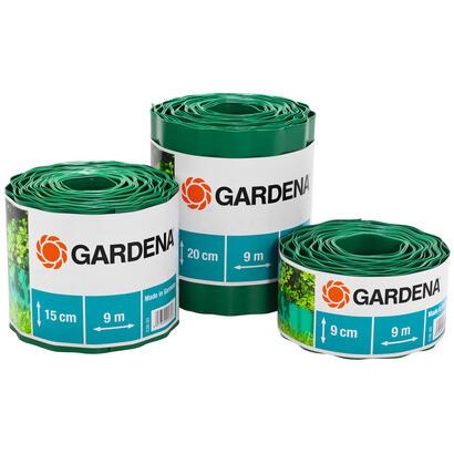 gardena-536-20-cercadillo-para-cesped-de-plastico-verde-9m