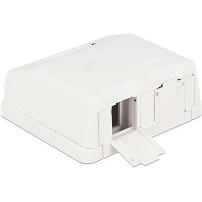 delock-86236-keystone-caja-de-montaje-en-superficie-de-2-puertos-con-cubierta-antipolvo