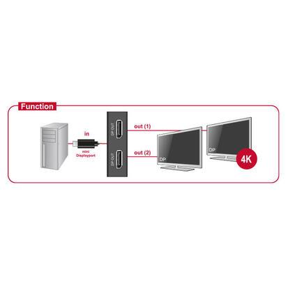 delock-87695-displayport-12-splitter-1-x-mini-displayport-in-2-x-displayport-out-4k