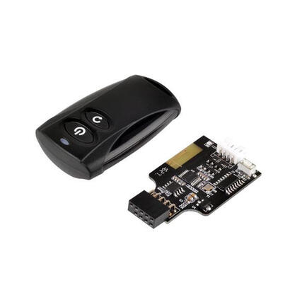 silverstone-es02-usb-mando-a-distancia-rf-inalambrico-negro-botones