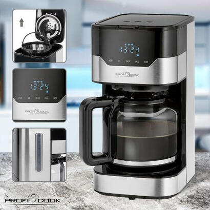 proficook-ka-1169-cafetera-programable-negra