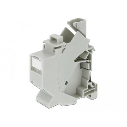 delock-montaje-keystone-para-carril-din-con-cubierta-antipolvo