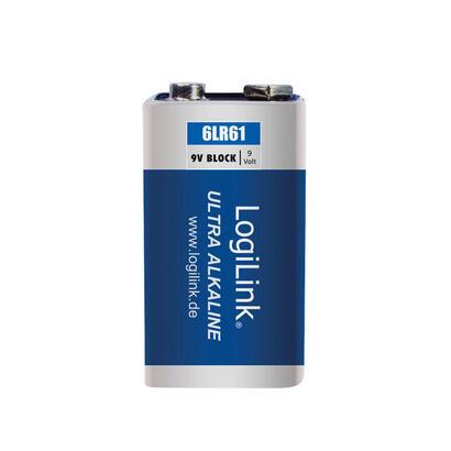 logilink-ultra-power-6lr61-alkaline-batteries-block-9v