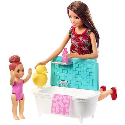 barbie-skipper-babysitters-munecas-juguete-set-de-juego-banera