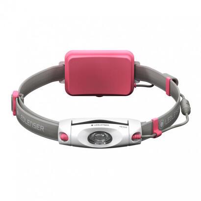led-lenser-neo6r-linterna-con-cinta-para-cabeza-gris-rosa-blanco