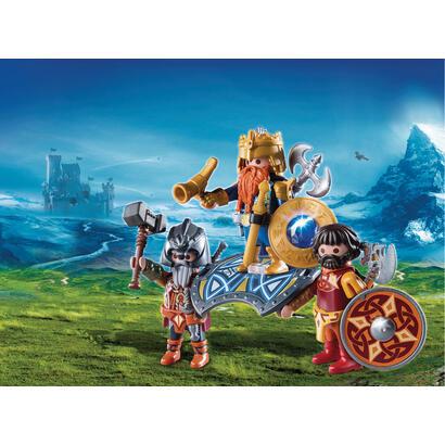 playmobil-9344-el-rey-guerrero-enano