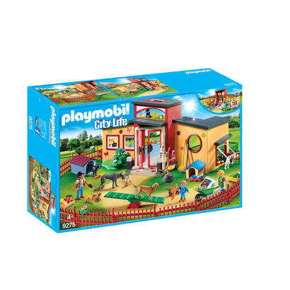 playmobil-9275-ciudad-hotel-de-mascotas-hotel-de-mascotas