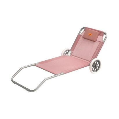 easy-camp-420045-silla-de-camping-y-taburete-tumbona-de-camping-1-patas-coral-rojo