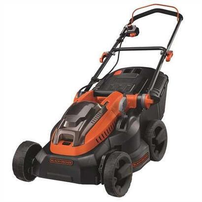 black-decker-clm3820l2-cortacesped-manual-negro-naranja-bateria