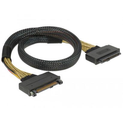 delock-85738-cable-serial-attached-scsi-sas-05-m-4-gbits-negro