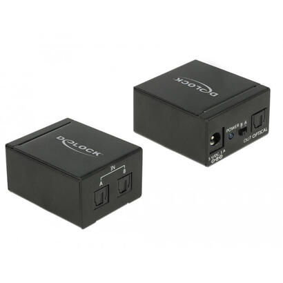 delock-18767-switch-2x-toslink-in-1x-toslink-out-negro