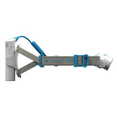 luz-frontal-led-lenser-neo10r-recargable-600-lm-gris-azul