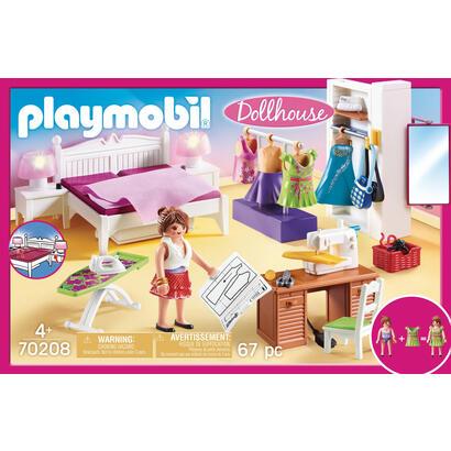 playmobil-dollhouse-70208-sala-con-espacio-para-coser