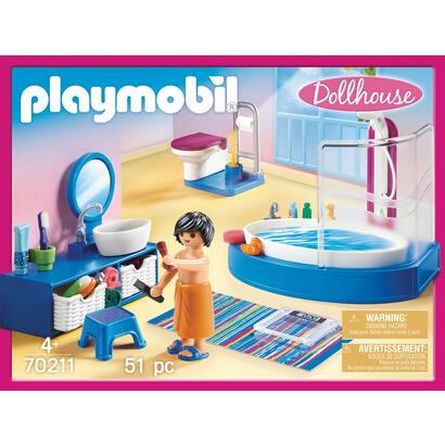 playmobil-dollhouse-70211-bano-con-banera