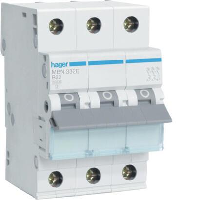 hager-interruptor-magnetotermico-corriente-6ka-3p-b-32a-mbn332e