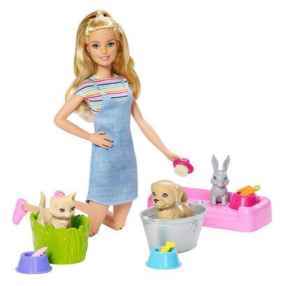 barbie-fxh11-juego-de-bano-divertido-juego-de-animales-y-muneca