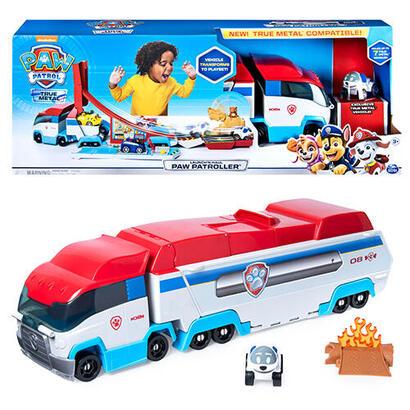 spin-master-paw-patrol-true-metal-playset-launch-n-haul-paw-patroller-vehiculo-de-juguete