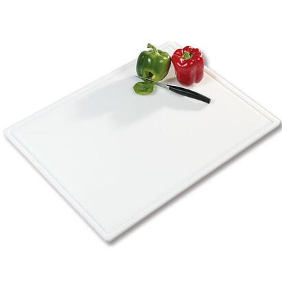 kesper-30061-kitchen-cutting-board-rectangular-plastic-white