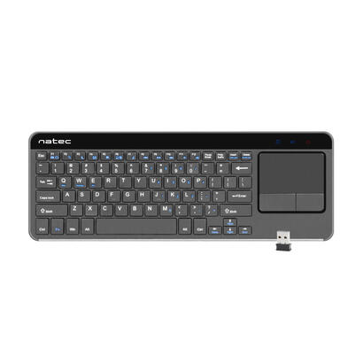 natec-turbot-teclado-ingles-touch-pad-inalambrico-smart-tv-24-ghz