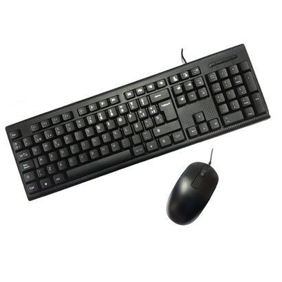 kit-tecladoraton-usb-pccase-negro