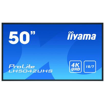 iiyama-lh5042uhs-b1-pantalla-de-senalizacion-1257-cm-495-va-4k-ultra-hd-pantalla-plana-para-senalizacion-digital-negro-procesado