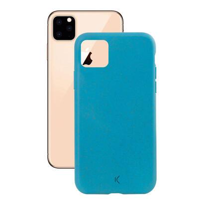 ksix-silk-funda-eco-friendly-azul-para-iphone-11-pro-max