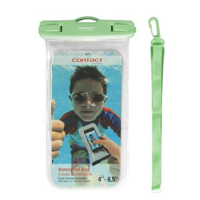 funda-universal-waterproof-para-smartphone-verde