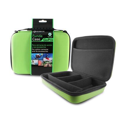 bolsa-adventure-ksix-para-camaras-deportivas-y-accesorios-pequena-250x180x70-mm-verde