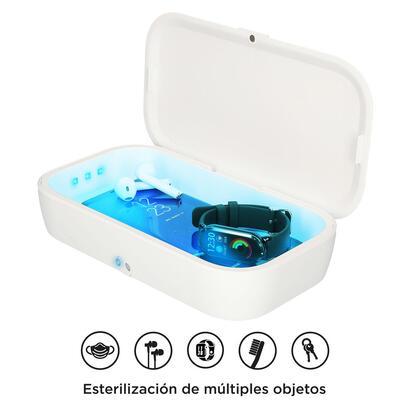 caja-esterilizadora-ksix-uv-box-pro-con-carga-inalambrica-10w